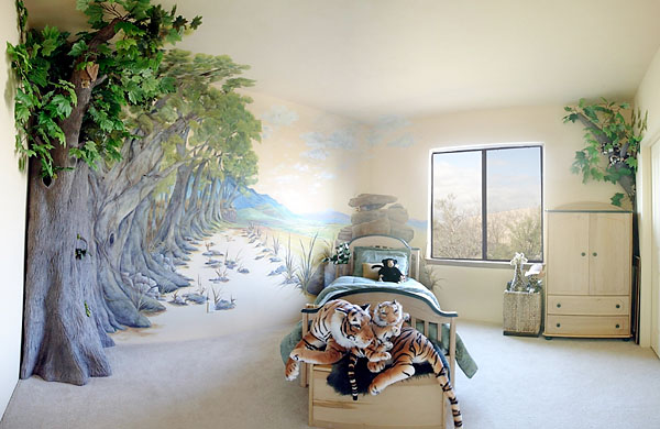 Wall Painting Designs Gallery : D murals gallery