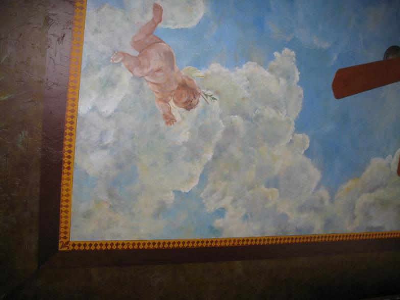 Ceiling Murals Gallery