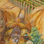 Detail of Peter Rabbit from the Sacramento Mural - see website index to view more of this amazing, award winning mural.  ©2011 Kristen Muench photo by Joanne Hufford