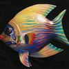 "Angelfish (#1899) 30""h x 33""lx 18""d  Courtesy Nancy Helmuth, Boulder, CO ©1999 Kristen Muench photo by KM"
