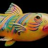 "Wrasse (#2598) 9""h x 7""w x 25""l  ©1998 Kristen Muench photo by KM"