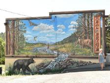 Murals that enhance business settings