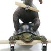 "Turtle Plane Animal Stack (#0104) 40""h x 27""w x 29""deep Colorado Springs ©2004 Kristen Muench photo by David A. Harvey"