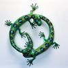 "Circle Lizards (#8996) 21"" h x 23""w x 6""h ©1996 Kristen Muench photo by KM"