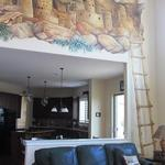 Cliff Dwellings with Kiva Ladder Mural 10'h x 20' 'wide Private Home, Parker, CO ©2013 Kristen Muench photo by KM