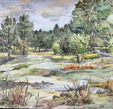 Award Winning Plein Aire Watercolor Paintings by Kristen Muench
